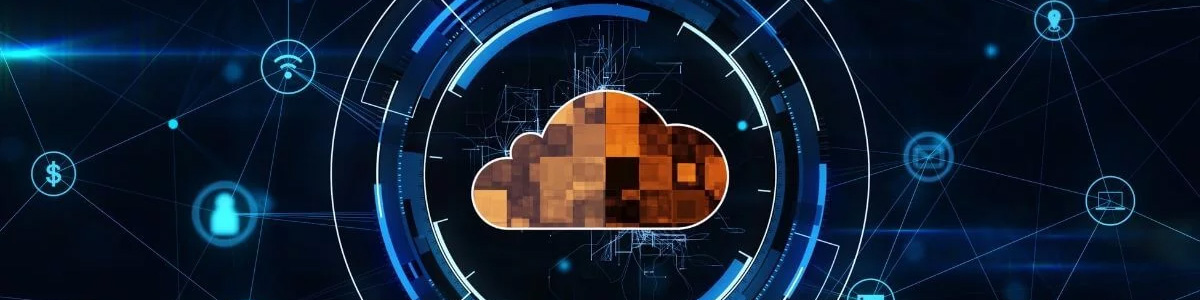 virtual cloud illustration